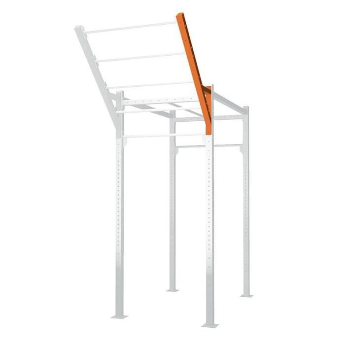 Barre oblique TOORX pour cage MASTER OUTDOOR GO75-TO