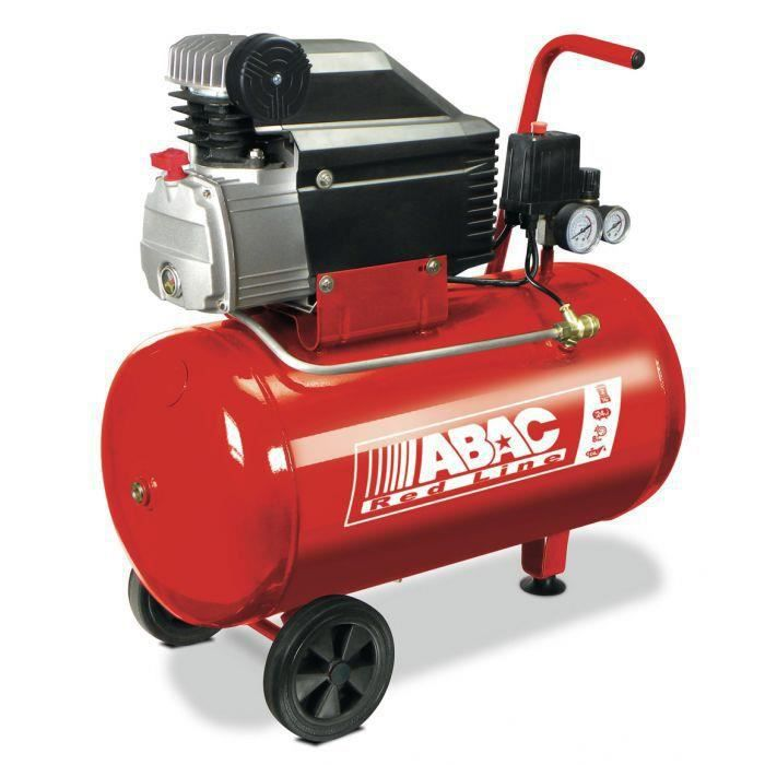 Compresseur red line abac 50 litres 2 cv 230 achat vente compresseur auto compresseur - Compresseur 50 litres ...