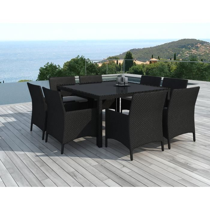 table salon jardin carree 8 personnes achat vente table salon jardin carree 8 personnes pas. Black Bedroom Furniture Sets. Home Design Ideas