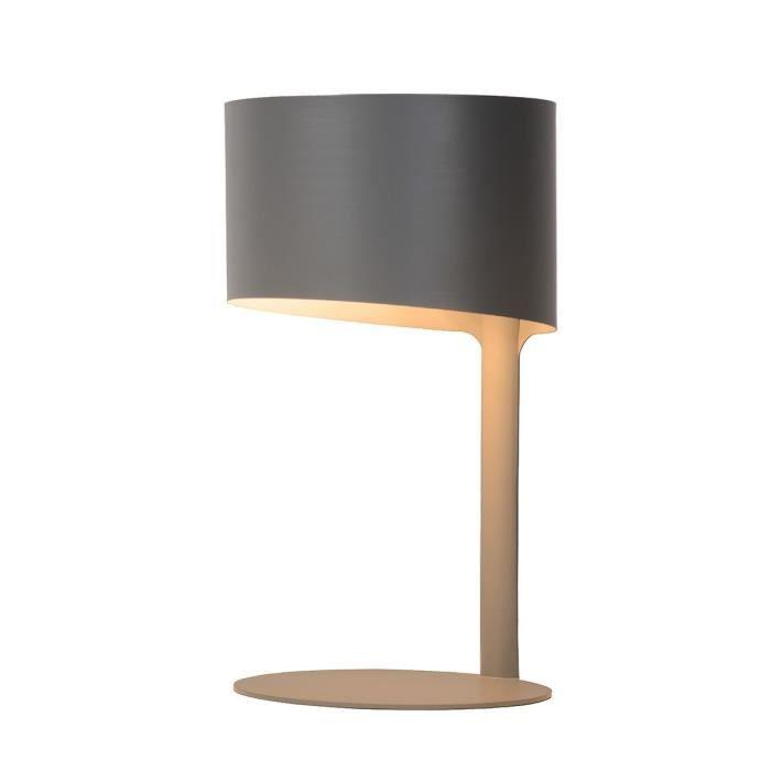 LAMPE A POSER Lampe design KNULLE grise taupe en métal