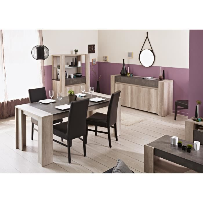 salle manger contemporain coloris ch ne b ton avorio la salle manger contemporaine avorio. Black Bedroom Furniture Sets. Home Design Ideas
