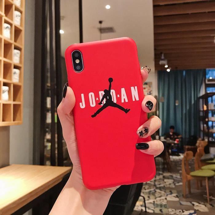 coque iphone 6s jordan rouge