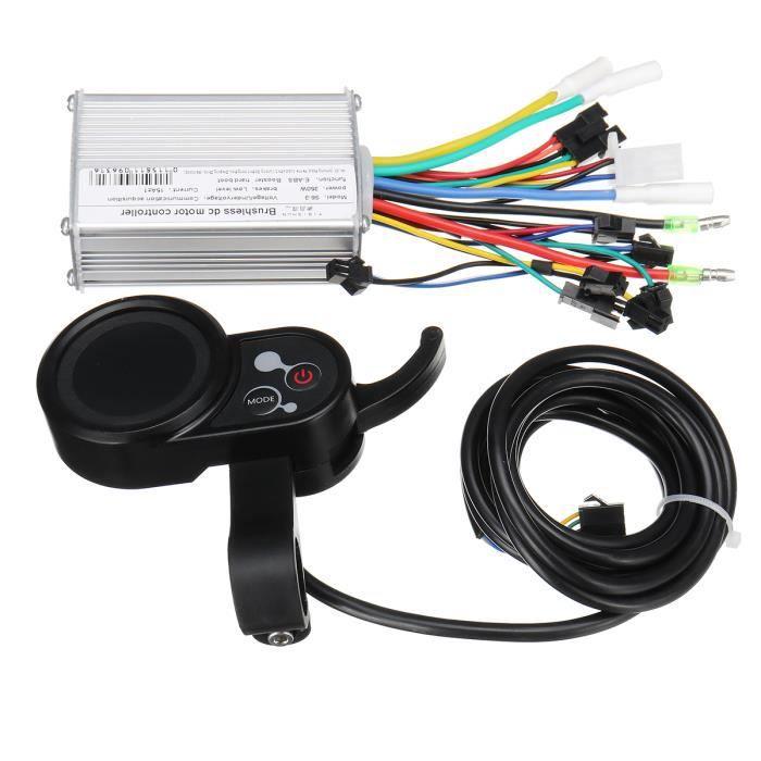 utilis/é pour 250W ebike kit. 36V//48V 250W 15A Brushless contr/ôleur de moteur DC ebike Controller