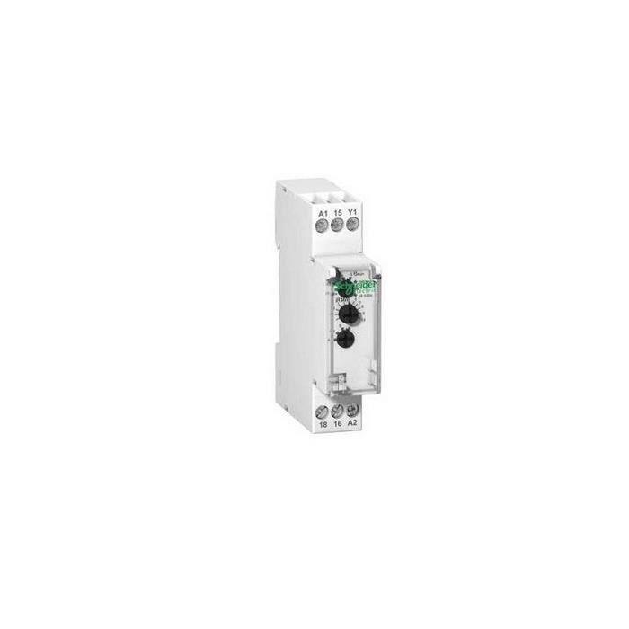 mini relais horaire GRT8-B1 AC//DC 12 V ~ 240 V avec affichage LED type rail DIN. Relais multifonctions mini relais de mise hors tension
