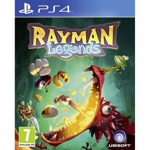 JEU PS4 Rayman Legends