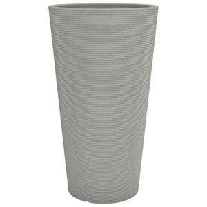 JARDINIÈRE - BAC A FLEUR SCHEURICH Pot en plastique rotomoulé Coneo High 24