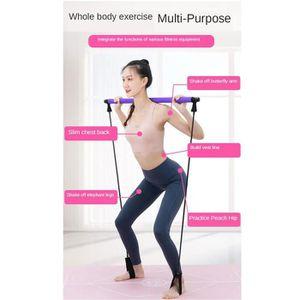 Accueil du mat/ériel de Gymnastique! Kabalo Tapis de Yoga 183cm x 61cm Rose avec bandouli/ère