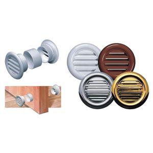 Blanc Mini Cercle Aération Grille Porte Ventilation Housse 40mm//55mm//37mm T71