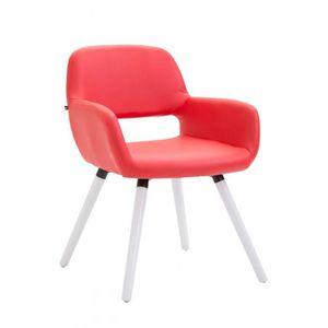 CHAISE sublime chaise de cuisine, de salon Amman Cuir syn