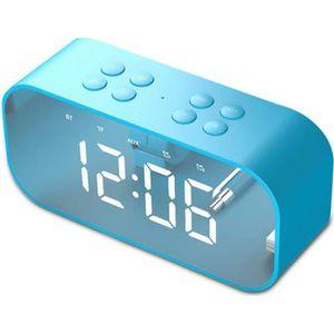 ENCEINTE NOMADE Enceinte bluetooth acve LED Horloge Digitale Révei