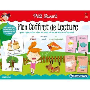 JEU D'APPRENTISSAGE CLEMENTONI Petit Savant - Mon coffret de lecture