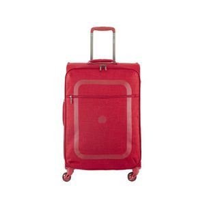 VALISE - BAGAGE Valise souple Dauphine 2 4 roues 66 cm ROUGE 04