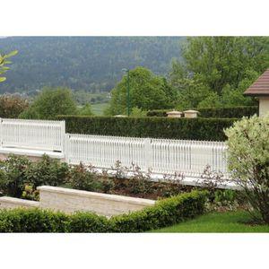 CLÔTURE - GRILLAGE Lanière PVC pour palissade largeur 43 mm x 60 m+10