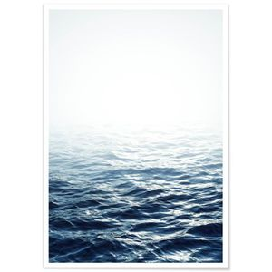 AFFICHE - POSTER Panorama® Poster Mer Calme 100 x 70 cm - Imprimée