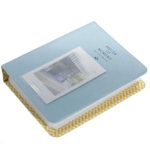 ALBUM - ALBUM PHOTO 64 poches Mini Album Boite Stockage Pour Polaroid