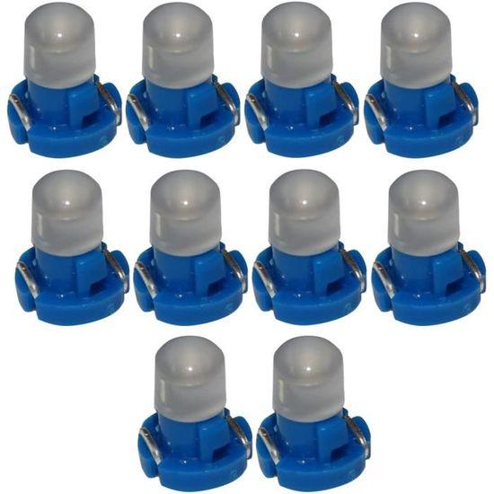10x ampoules T3 LED 12V lumi/ère verte pour tableau de bord Aerzetix