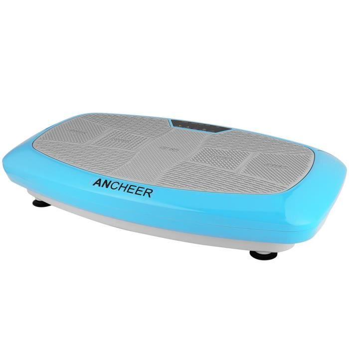 ANCHEER Plateforme vibrante de fitness physique - Machine de vibration - 150W Bleu