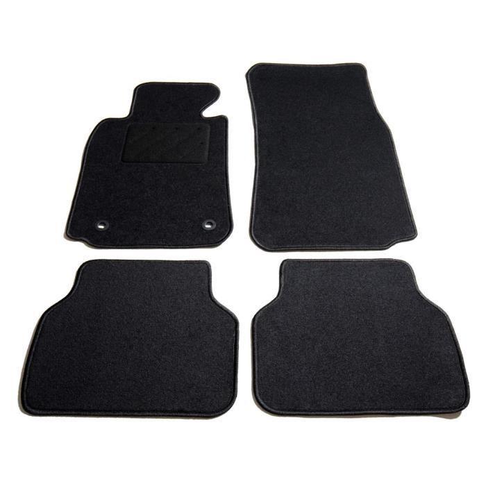 Rainbowin®Ensemble de tapis de voiture 4 pcs pour série 5 BMW E39