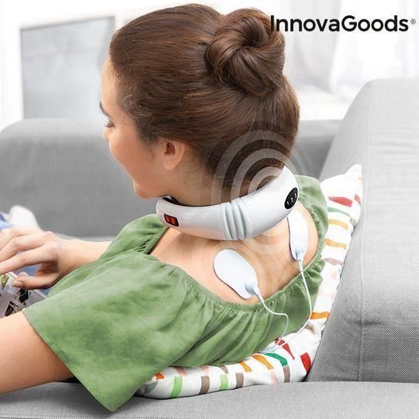 Masseur de Cou et de Dos Électromagnétique InnovaGoods