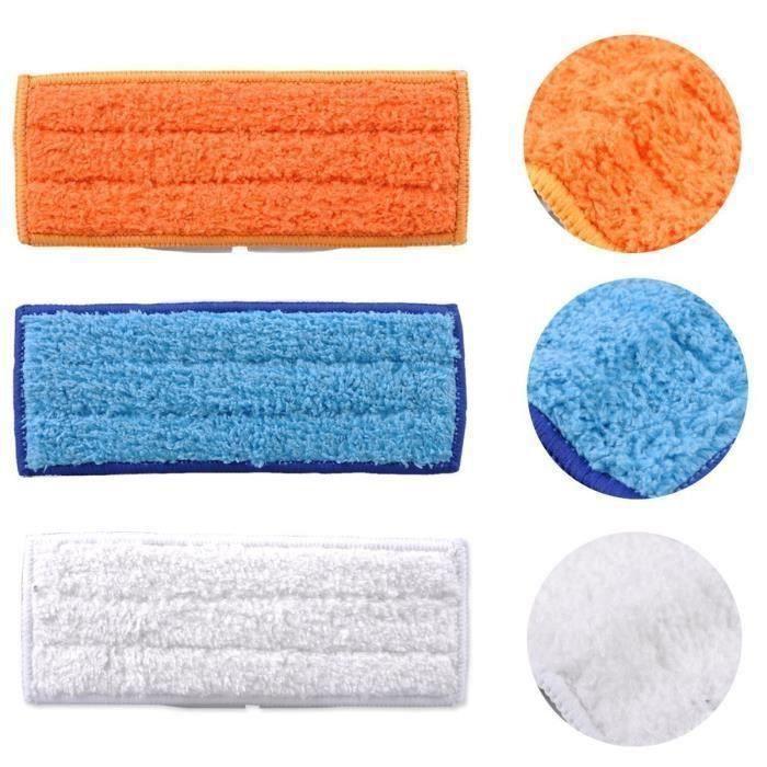 Lot de 10 lingettes de nettoyage lavables pour iRobot Braava Jet 240 241