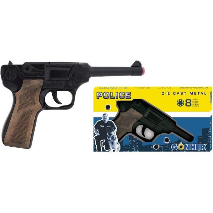 Pistolet de police 8 coups