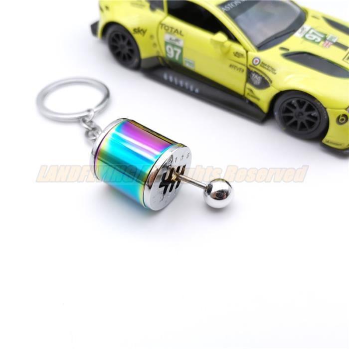 Porte-clés,Pièces de voiture Tuning Racing porte clés Turbo chargeur roue jante azote bouteille boîte de - Type KC-6 Speed Gearbox