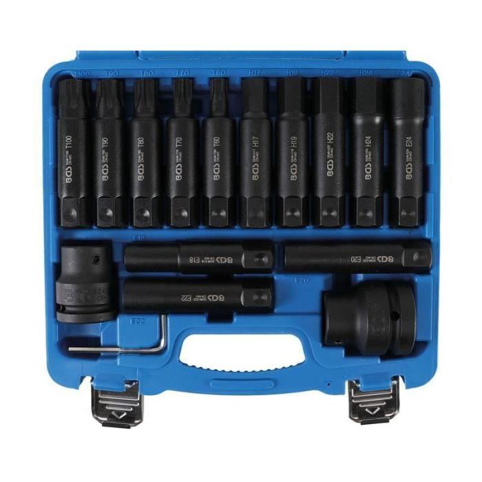 Jeu d'embouts PL 20 mm (3/4-) + 25 mm (1-) 16 pièces