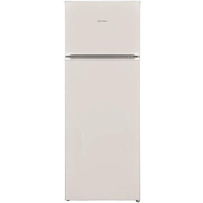 INDESIT I55TM4110W1 - Réfrigérateur congélateur haut - 213L (171 + 42) - Froid Statique - A+ - L 54 cm x H 144 cm- Blanc