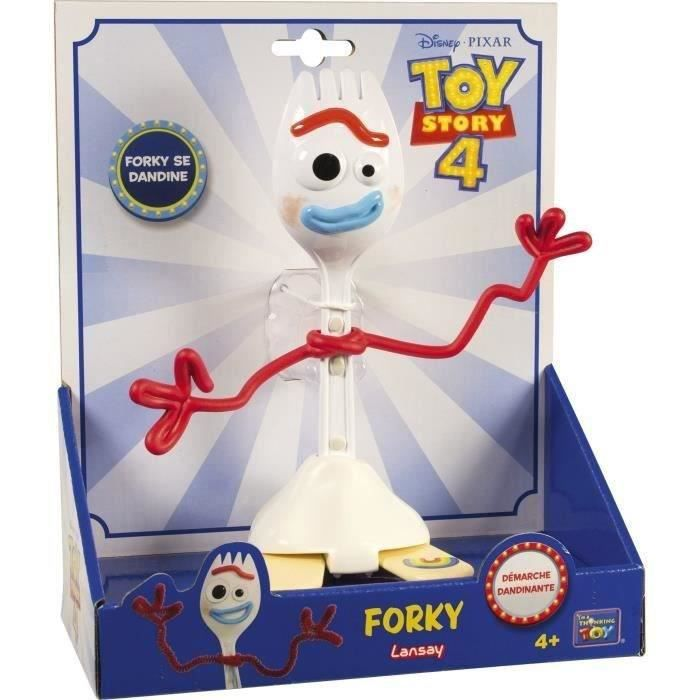 TOY STORY 4 Figurine personnage Forky dértaillée 18 cm environ