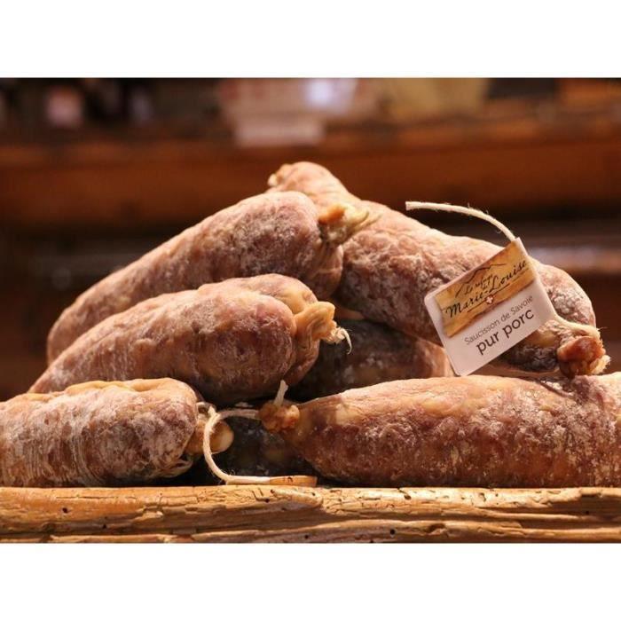 LOT DE 9 SAUCISSONS DE SAVOIE : 9 saucissons Pur porc