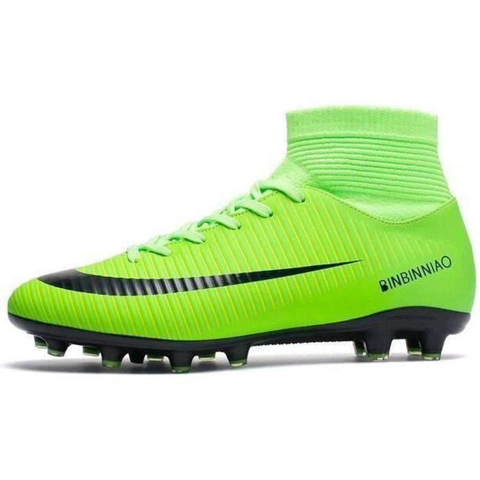 Nouveau Haute aide Chaussures de football Concours adolescence Chaussures d'entraînement