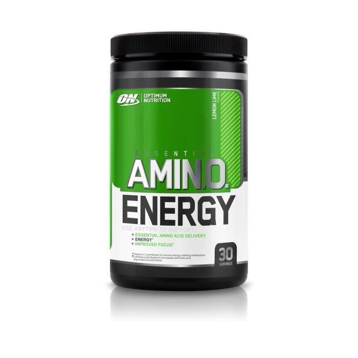 OPTIMUM NUTRITION Pot Amino Energy Citron / Citron Vert - 270 gr