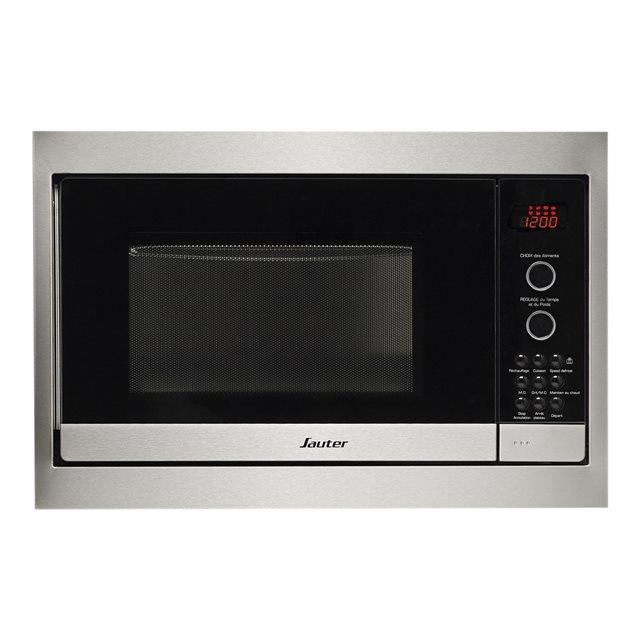 SAUTER SMG4350X - Micro-ondes Gril - Encastrable - 900W - 26L - Inox