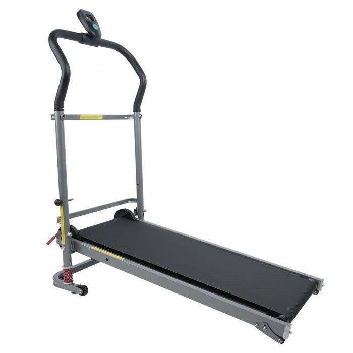 Machine de fitness en cours d'exécution motorisée par support mécanique de tapis roulant pliant