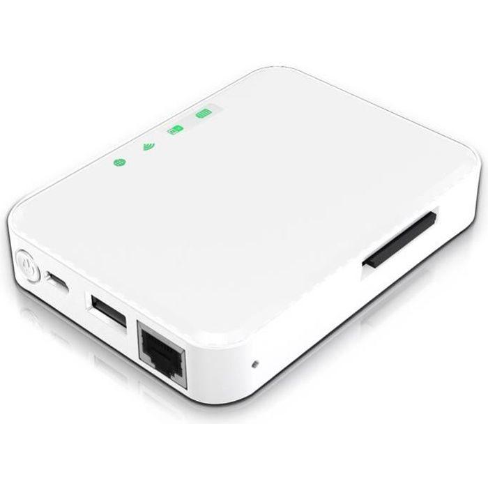 STOREX WEZEECARD Lecteur multimedia Wifi