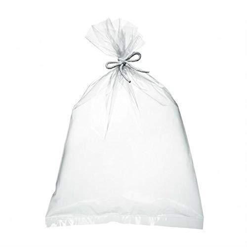 500 Sac plastique transparent cellophane 600 x 1000 mm 80 microns Compatible alimentaire emballage en sachet poche de rangement sacs