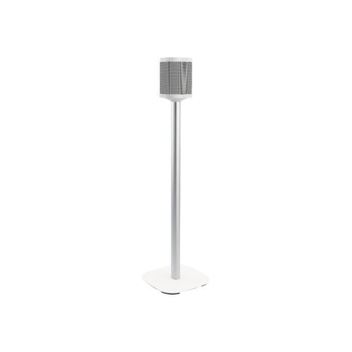 Vogel's Sound 4301 Pied pour haut-parleur(s) blanc posé sur le sol pour Sonos One, PLAY:1