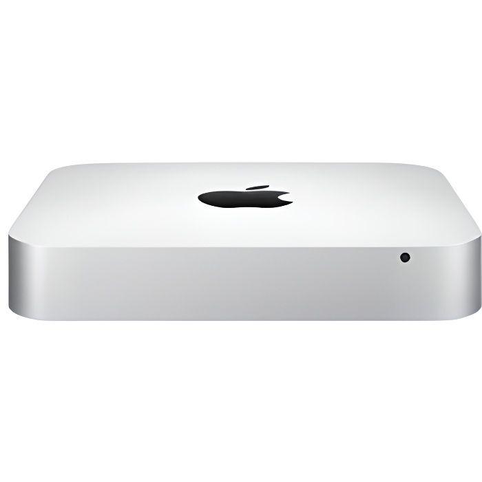 ORDI BUREAU RECONDITIONNÉ Mac Mini i5 2,5 Ghz - HDD 500 Go - RAM 8 Go - Fin