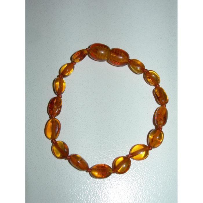 collier d'ambre et coliques