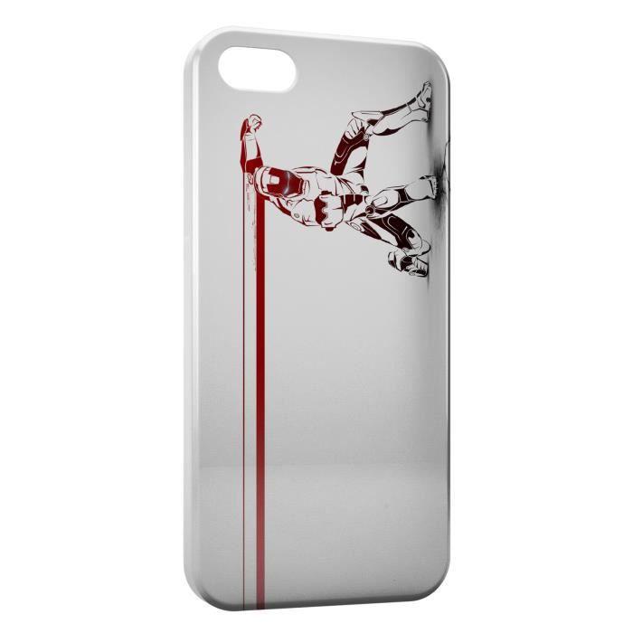 Coque iPhone 6S Plus ( ) Iron Man Tony Stark - Cdiscount Téléphonie