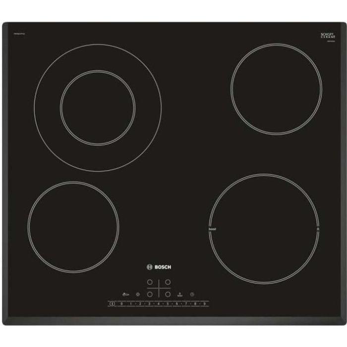 Bosch Plaque De Cuisson Vitroceramique 60cm 4 Feux 6900w Noir Pkf651fp1e Achat Vente Plaque Vitroceramique Cdiscount