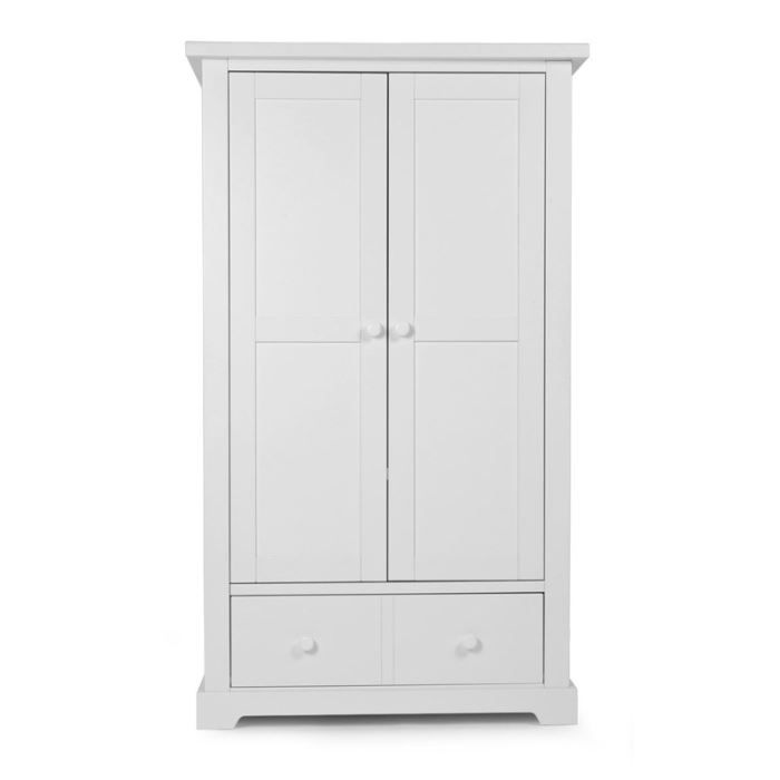 armoire bebe childwood simple classic white blanc achat vente armoire 5420007124465 cdiscount. Black Bedroom Furniture Sets. Home Design Ideas