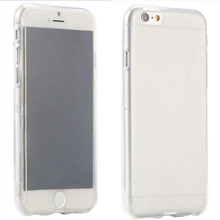coque rabat pour iphone 6 plus 5 5 transparente