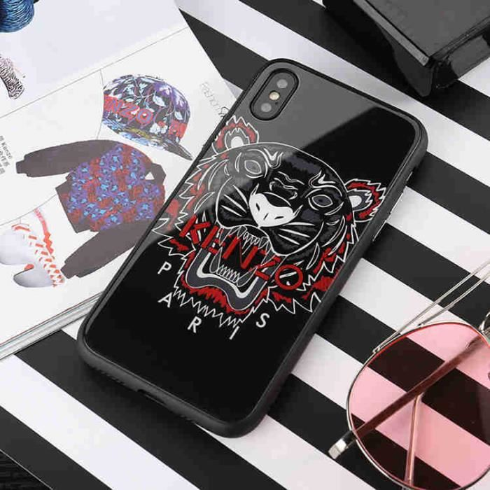 coque iphone x kenzo verre noir coque bumper houss
