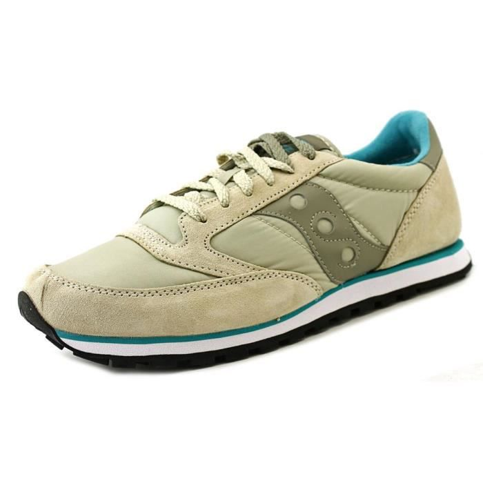 Chaussures baskets sneakers homme en daim jazz lowpro Saucony KAvnUe79Ct