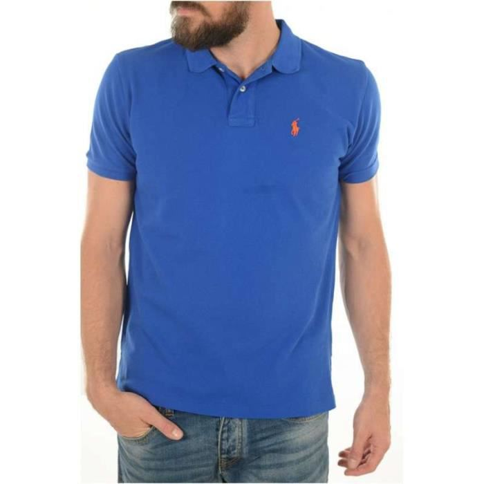 Ralph Lauren Polo - Polo Orange Strech - Taille M I0vKq
