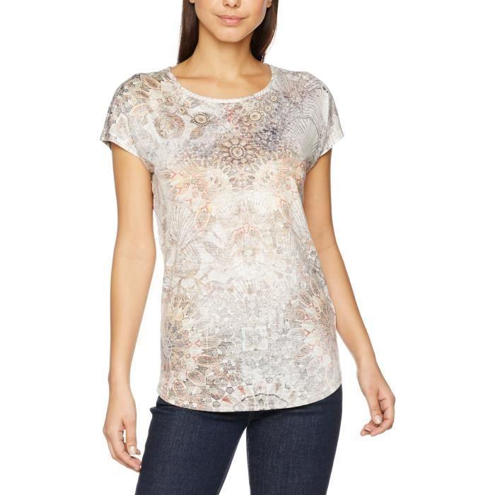 T-SHIRT Gerry Weber Printed, T-shirt Femme 1OGL78 Taille-4