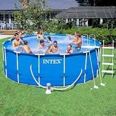 Object moved for Piscine intex tubulaire en solde
