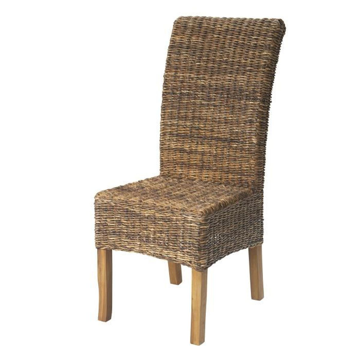 samourai chaise en abaca naturel naturel achat vente chaise soldes cdiscount. Black Bedroom Furniture Sets. Home Design Ideas