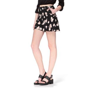 SHORT NEW LOOK Short Noir Femme
